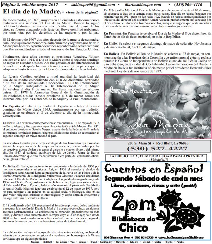 Calendario 1932 Espana.Periodico Sabias Que Edicion Impresa Mayo 2017 Diario